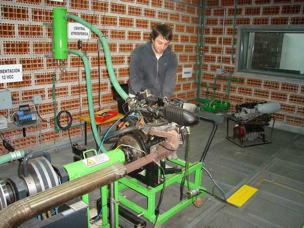 Laboratorio De Ensayo De Motores